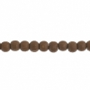 Wooden Bead Round 4mm Coffee